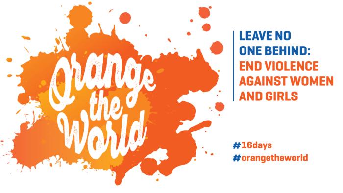 IDEA: 16 Days of Activism Against Gender-BasedViolence