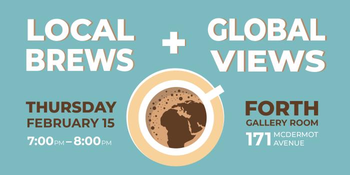 EVENT: Local Brews & GlobalViews