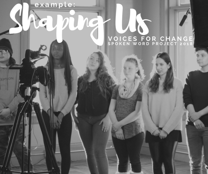 EXAMPLE: 'Shaping Us' – Gender Equality Spoken Word ft. MBstudents
